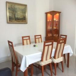 Tutto in una Stanza con Ariacondizionata Cucina Soggiorno e Tavolo Pranzo