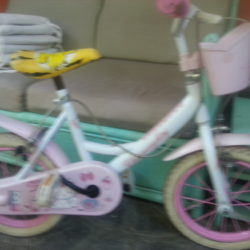 Bici Hello Kitty..