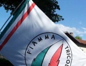 Bandiera Fiamma Tricolore
