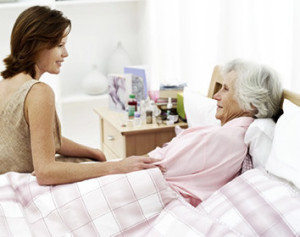 anziani malati in casa