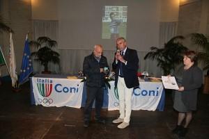 Premio a Francesco Potenza alla Festa dello Sport 2014 a Crotone