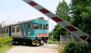 Sbarre alzate treno