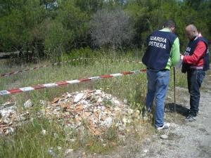 Discarica abusiva a Villapiana (1)