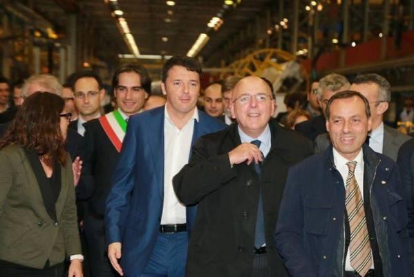 Matteo Renzi sabato a Reggio.