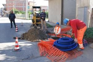 Lavori fibra ottica a Cirò Marina