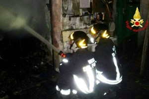 Incendio casolare a Cerenzia