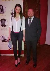 Francesca Russo e Nicodemo Iacovino