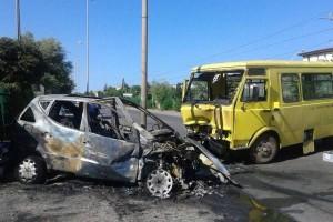 Incidente tra scuolabus e auto a Trebisacce