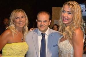 Claudia Peroni, Michele Affidato e Valeria Marini