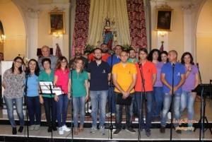Giovani del coro 'Voci di Pace'