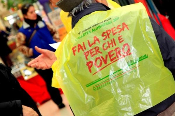 Giornata nazionale colletta alimentare, sabato volontari in tutti i supermercati