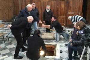 Apertura cripta Murat a Pizzo