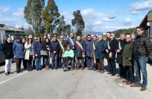 Protesta sindaci del crotonese
