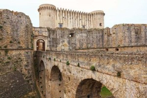 castle of santa severina calabria italy