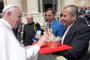 Benedizione corone della Madonna della Scala di Belvedere Spinello