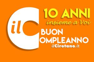 Compleanno ilCirotano 10 anni