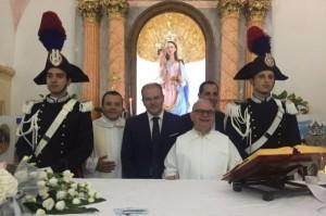 Consegna corone per la Madonna della Scala di Belvedere Spinello
