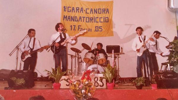 Scarpino e Sonus 83 1985