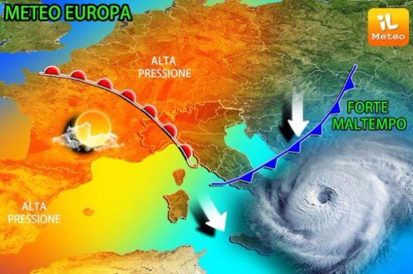 Maltempo, persistono temporali in Abruzzo e Molise