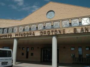 l'entrata dell'aeroporto sant'anna di crotone