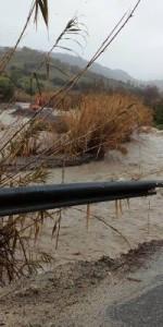 Il Fenomeno alluvionale in atto nel territorio di Caulonia2