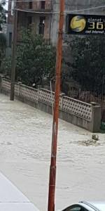 Il Fenomeno alluvionale in atto nel territorio di Caulonia9
