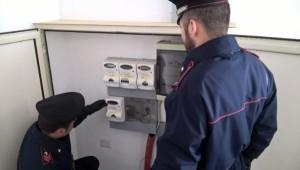 Carabinieri allaccio abusivo e furto di energia, un arresto e quattro denunce