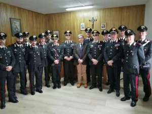 Visita del Procuratore di Cosenza alla Stazione Carabinieri di San Giovanni in Fiore