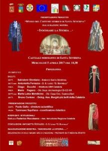 Mostra al castello di S. Severina dal titoloIndossare la storia