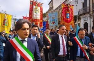 manifestazione di Locri per la Giornata della Memoria e dell'Impegno