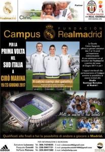 Il Real Madrid a Cirò Marina, un campus in estate per scovare i talenti calabresi