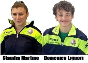 Atleti Claudia Martino e Domenico Liguori