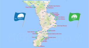 Bandiere Blu e Verdi 2017, ecco tutte le spiagge premiate della Calabria