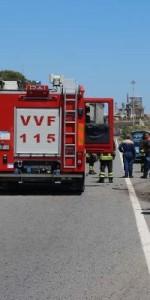 Crotone- incidente stradale sulla statale 106, 3 feriti1