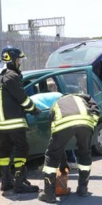 Crotone- incidente stradale sulla statale 106, 3 feriti2