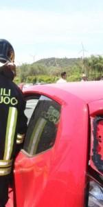 Crotone- incidente stradale sulla statale 106, 3 feriti6