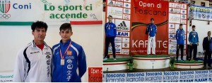 Emanuel Lo Iacono dell'akc medaglia di bronzo agli italian junior open