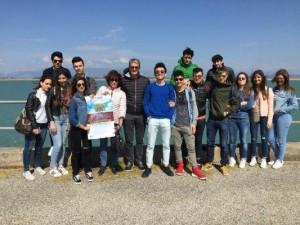 L'esperienza degli studenti del Liceo Fermi di Catanzaro alla Diga Sant'Anna di Isola Capo Rizzuto