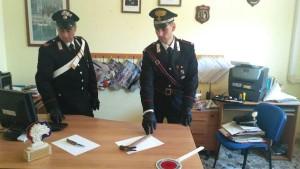 Un uomo vittima di violenza tra le mura domestiche, arrestata la donna conviventeCarabinieri1