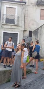 Aspiranti gastronomi a Saracena, accolti dal Sindaco e da Slow food1