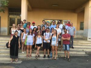 Aspiranti gastronomi a Saracena, accolti dal Sindaco e da Slow food3