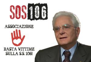 Basta Vittime invia a Mattarella 25 mila firme per la SS106