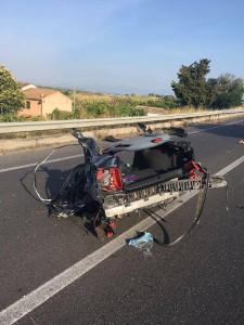Lorenzo simeri vittima della SS106 in un impatto nella mattina di oggi a Rossano2