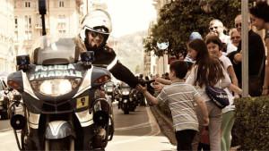 Visita scolaresca nella Sezione Polizia Stradale di Crotone