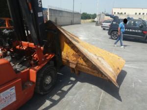 Furto di attrezzatura agricola a Castelsilano, due denunce per riciclaggio1