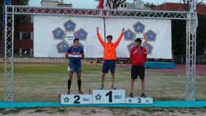 Giuseppe Mattia Parisi è Campione italiano di Pentathlon moderno2