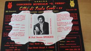 Il Presidente della Banda Musicale di Scala Coeli sul canone d'affitto della sede concessa dal Comune (1)