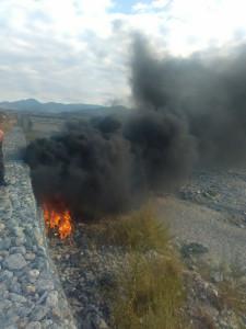 Incendi Arrestato rumeno per aver dato fuoco a rifiuti1