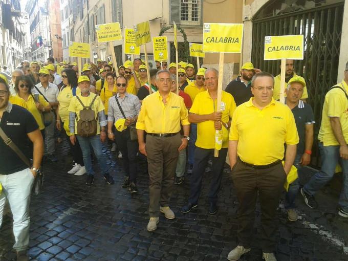 La coldiretti calabrese a roma per fermare il trattato di for Parlamentari calabresi