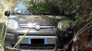 Sequestrate 1200 piante di canapa indiana e rinvenuta un'auto rubata nascosta tra la vegetazione3
